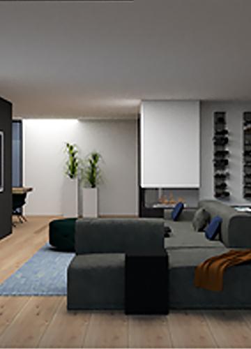 3D ontwerp interieur