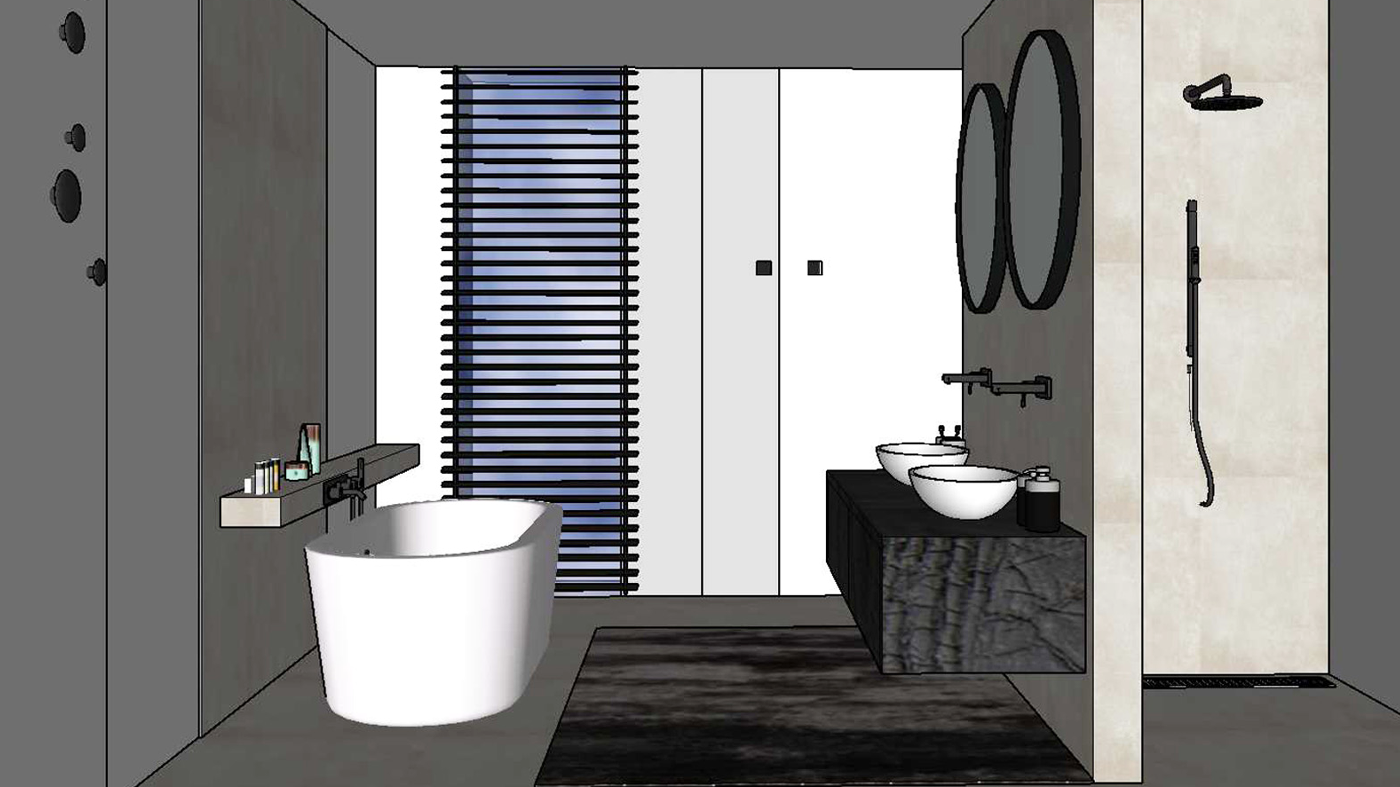 Badkamer nieuwbouw woning